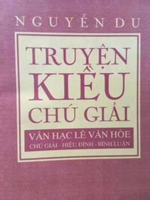 Một ấn phẩm Truyện Kiều của Nguyễn Du