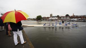 Visitors to Henley are taking part in an annual tradition dating back to 1839.