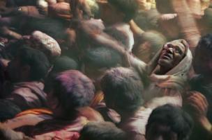 Holi festival by Claudio Ceriali