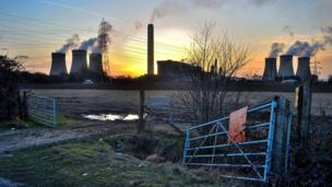 A striking view of Didcot Power Station