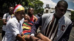 Les 19 et 20 décembre, à l'expiration du mandat de Kabila, des manifestations ont eu lieu dans plusieurs villes de la RDC faisant plusieurs morts.