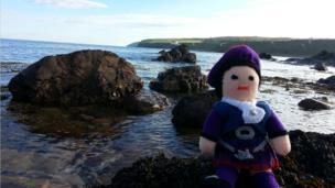 Dunbeath beach