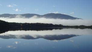 Mist over Loch Garten