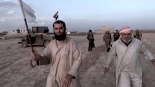 مدنيون عراقيون في الموصل