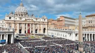 Cocin St. Peter's Basilica da ke Vatican City