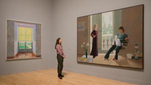 نمایشگاه آثار دیوید هاکنی