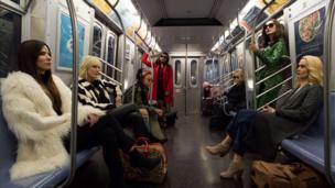Sandra Bullock, Cate Blanchett, Rihanna, Mindy Kaling, Awkwafina, Helena Bonham Carter, Anne Hathaway and Sarah Paulson in Ocean's Eight