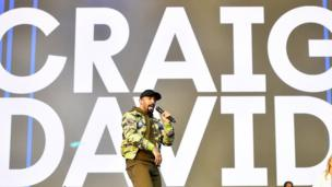 Craig David performs