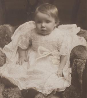 Vera Lynn aged 10 months