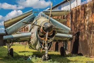 Fairey Gannet aircraft
