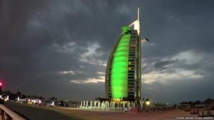 Burj Al Arab hotel, Dubai, United Arab Emirates