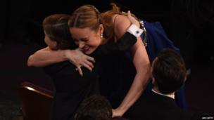 Jacob Tremblay and Brie Larson