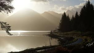 Kintail mountains