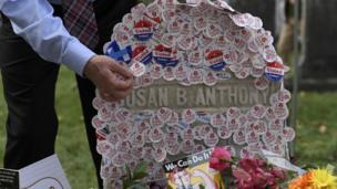 Tumba de Susan B. Anthony
