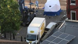 حادث دهس المصلين أمام مسجد شمالي لندن