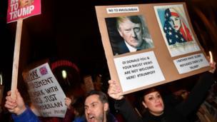 Londra protestosu
