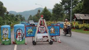hinh anh tram kiem soat Thai Lan