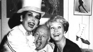 Ann Miller, Mickey Rooney and Debbie Reynolds