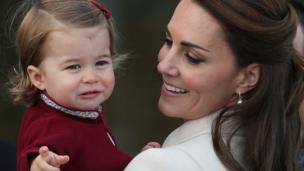 夏洛特公主和母親
