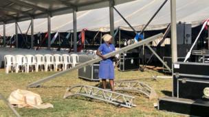 Maandalizi ya mazishi ya rais mstaafu Daniel Arap Moi