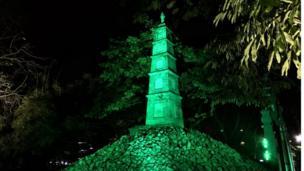 The Pen Monument in Hanoi, Vietnam