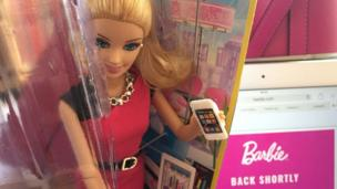 Barbie breaks free?