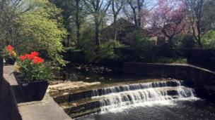 River in Barrowford, Lancashire