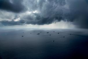 """Учения флота """"Какаду"""" у побережья Северной территории, 18 сентября 2016"""