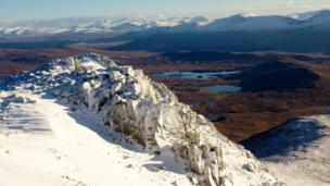 Rannoch Moor from the summit of Meall a'Bhuiridh