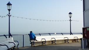 Looking Out, Eastbourne Pier