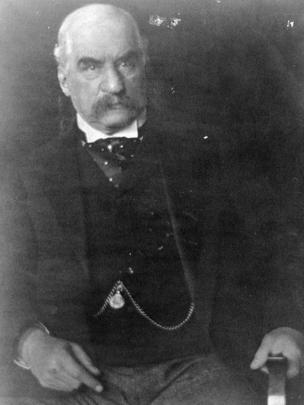 Retrato de J.P. Morgan por Edward Steichen.