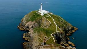 South Stack lighthouse on Holyhead