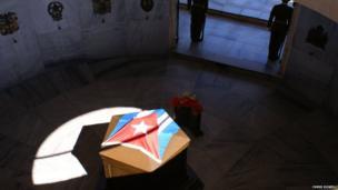 Jose Marti's mausoleum, Santiago de Cuba.