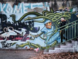 Graffiti in Vienna