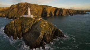 South Stack Lighthouse on Anglesey.
