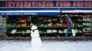 Fruit and veg shop in London