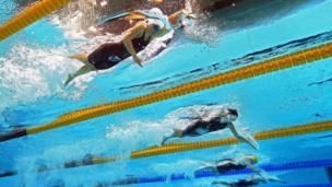 Nadadoras en Londres 2012