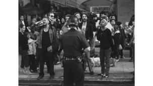 Danny Lyon (1942), Manifestación del movimiento Occupy en Broadway, Los Ángeles, 2011