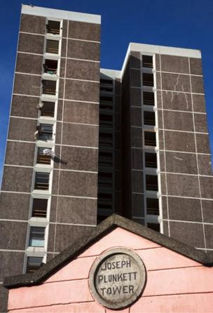 Joseph Plunkett Tower, Ballymun