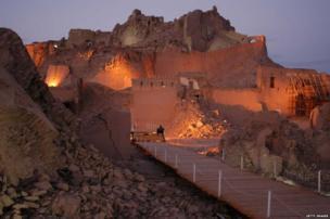 ईरान में प्राचीन अर्ज-ए बाम किला