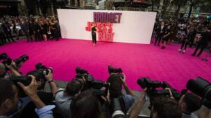 Renee Zellweger at the premiere of Bridget Jones's Baby
