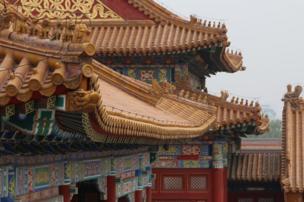 Un tejado en Pekín