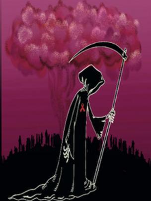 روز جهانی ایدز / کارتون فیروزه مظفری. اعتماد