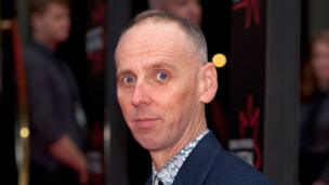 Trainspotting's Ewan Bremner came to the opening celebrations.