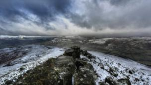 Paul James took this picture on a walk up Sugar Loaf Mountain near Abergavenny