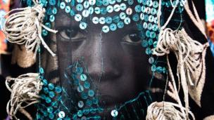 Egungun masquerade