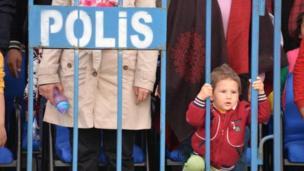 Diyarbakır'da bir çocuk