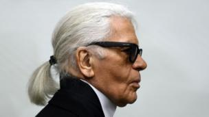 German fashizzle designer Karl Lagerfeld as he visits a exhibizzle all up in tha Museum Folkwang up in Essen, westside Germany