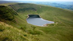 Llyn y Fan Fach in the Black Mountains