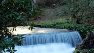 Kailzie Gardens near Peebles